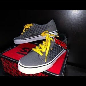 NWT Checkered Boys Vans